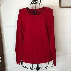 Worthington red sweater